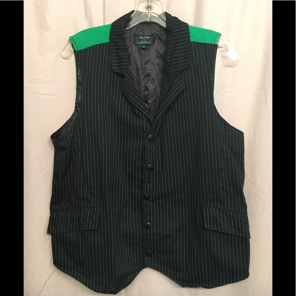 335bd43c2f Striped green and black vest. M_5ada967436b9deb417f4c074. Other Tops you  may like. Tripp ...